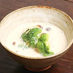 20131015_ブロッコリーの豆乳スープ